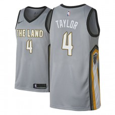 Isaiah Taylor Cavaliers City Edition Gray Jersey