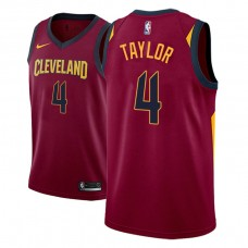 Cleveland Cavaliers #4 Isaiah Taylor Icon Jersey