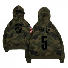 Cleveland Cavaliers #5 J.R. Smith Name & Number Hoodie