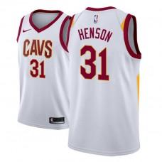 John Henson Cavaliers Association White Jersey