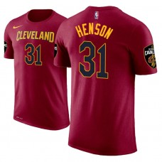 Cleveland Cavaliers #31 John Henson Maroon Icon T-Shirt