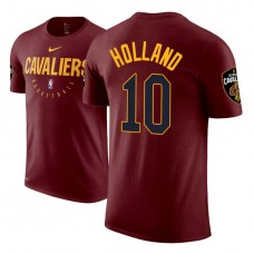 Cleveland Cavaliers #10 John Holland Practice Essential T-Shirt