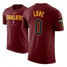 Cleveland Cavaliers #0 Kevin Love Maroon Practice Essential T-Shirt