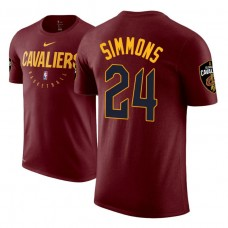 Cleveland Cavaliers #24 Kobi Simmons Practice Essential T-Shirt