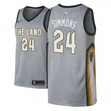 Cleveland Cavaliers #24 Kobi Simmons City Jersey