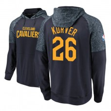 Cleveland Cavaliers #26 Kyle Korver Navy Made to Move Hoodie