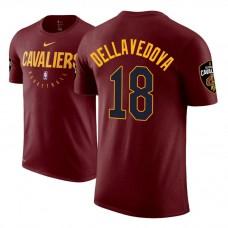 Cleveland Cavaliers #18 Matthew Dellavedova Maroon Practice Essential T-Shirt