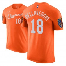 Cleveland Cavaliers #18 Matthew Dellavedova City T-Shirt