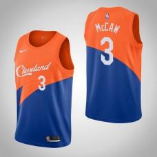 Cleveland Cavaliers #3 Patrick McCaw Blue City Jersey