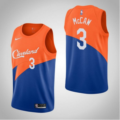 Cleveland Cavaliers #3 Patrick McCaw Blue City Jersey