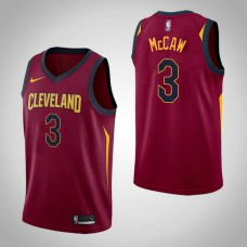 Patrick McCaw Cavaliers Icon Maroon Jersey