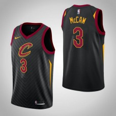 Cleveland Cavaliers #3 Patrick McCaw Black Statement Jersey