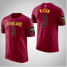 Cleveland Cavaliers #3 Patrick McCaw Maroon Icon T-Shirt