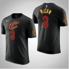 Cleveland Cavaliers #3 Patrick McCaw Black Statement T-Shirt