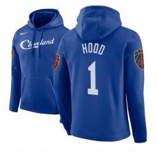 Rodney Hood Cavaliers #1 Blue 2018 City Edition Hoodie