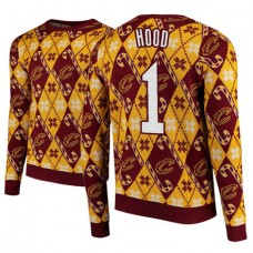 Cleveland Cavaliers #1 Rodney Hood 2018 Christmas Sweater