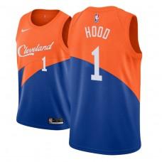 Cleveland Cavaliers #1 Rodney Hood Blue City Jersey