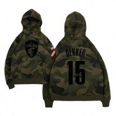 Cleveland Cavaliers #15 Sam Dekker Name & Number Hoodie