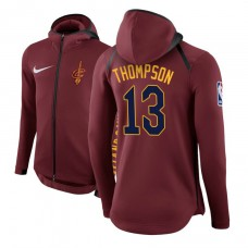Cleveland Cavaliers #13 Tristan Thompson Maroon Showtime Hoodie