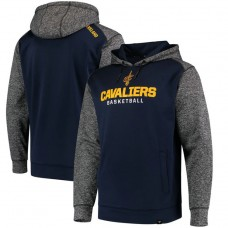 Cavaliers Navy Static Fleece Pullover Hoodie