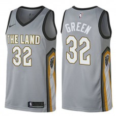 Cleveland Cavaliers #32 Jeff Green City Jersey