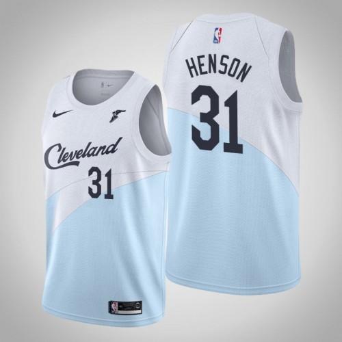 John Henson Cavaliers #31 Earned Edition Blue Jersey