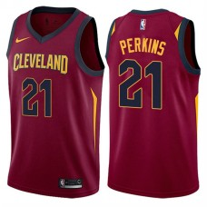 Cleveland Cavaliers #21 Kendrick Perkins Icon Jersey