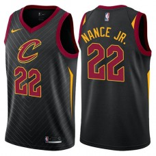 Cleveland Cavaliers #22 Larry Nance Jr. Black Statement Jersey