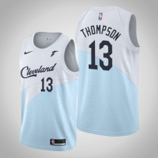 Cleveland Cavaliers #13 Tristan Thompson Blue Earned Jersey
