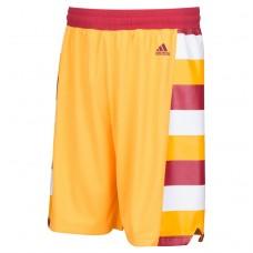Cavaliers Gold Hardwood Classics Swingman Shorts