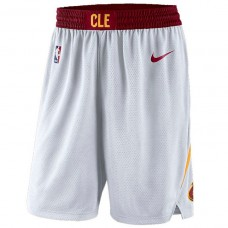 Cavaliers White Association Swingman Basketball Shorts