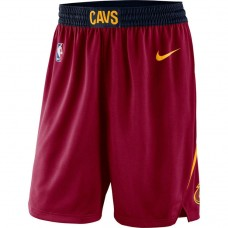 Cavaliers Wine Icon Swingman Basketball Shorts