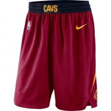 Cavaliers Wine Icon Swingman Basketball Shorts