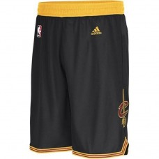 Cavaliers Black Swingman Shorts