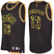 Cleveland Cavaliers #13 Tristan Thompson Camo Military Camo Fashion Jersey