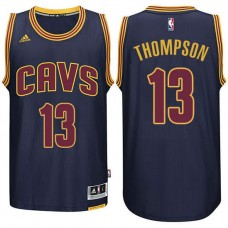 Cleveland Cavaliers #13 Tristan Thompson Navy Blue Road Jersey