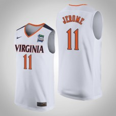 Virginia Cavaliers #11 Ty Jerome White 2019 Final-Four Jersey