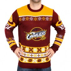 Cavaliers Klew Wine/Gold Thematic Ugly Sweater