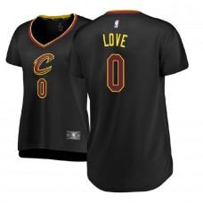 Women's Cleveland Cavaliers #0 Kevin Love Statement Jersey