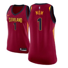 Women's Cavaliers #1 Mother's Day Maroon Jersey