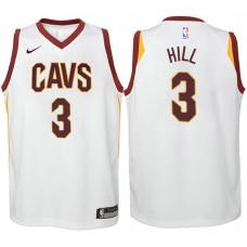 Youth Cleveland Cavaliers #3 George Hill White Association Jersey