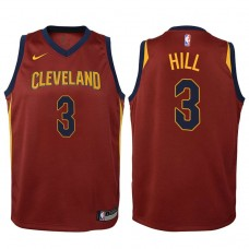 Youth Cleveland Cavaliers #3 George Hill Wine Icon Jersey