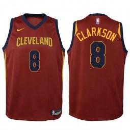 Youth Jordan Clarkson Cavaliers Icon Wine Swingman Jersey