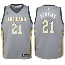 Youth Cleveland Cavaliers #21 Kendrick Perkins City Jersey