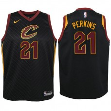 Youth Cleveland Cavaliers #21 Kendrick Perkins Statement Jersey