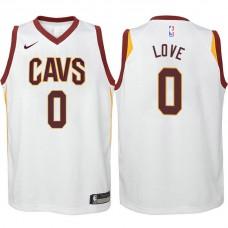 Youth Kevin Love Cavaliers Association White Swingman Jersey