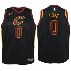 Youth Cleveland Cavaliers #0 Kevin Love Statement Jersey