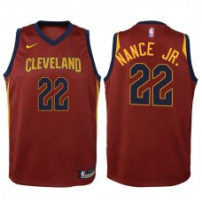 Youth Cleveland Cavaliers #22 Larry Nance Jr. Wine Icon Jersey