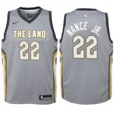 Youth Cleveland Cavaliers #22 Larry Nance Jr. City Jersey