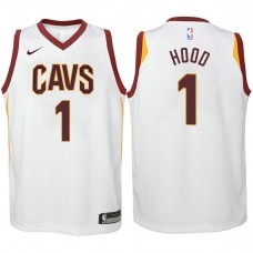 Youth Cleveland Cavaliers #1 Rodney Hood White Association Jersey